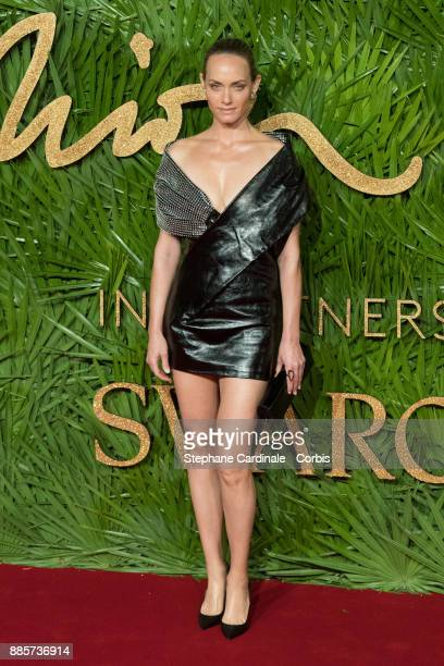 Amber Valletta attends the Fashion Awards 2017 In Partnership With Swarovski at Royal Albert Hall on December 4 2017 in London England