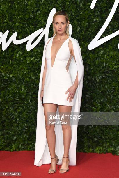 Amber Valletta attends The Fashion Awards 2019 at the Royal Albert Hall on December 02, 2019 in London, England.