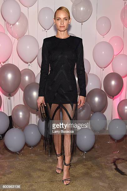 Amber Valletta attends the Jimmy Choo 20th Anniversary Event during New York Fashion Week on September 8 2016 in New York City