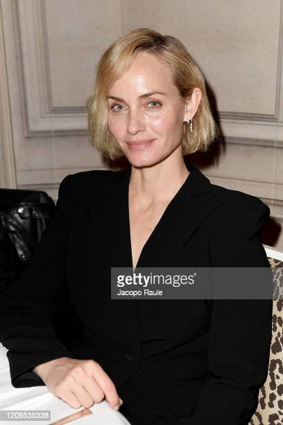 Amber Valletta attends the Monot show as part of the Paris Fashion Week Womenswear Fall/Winter 2020/2021 on February 29, 2020 in Paris, France.