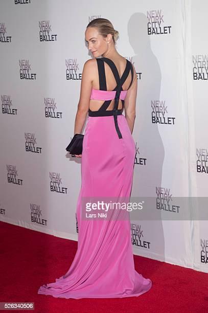 Amber Valletta attends the New York City Ballet 2013 Fall Gala at Lincoln Center in New York City �� LAN