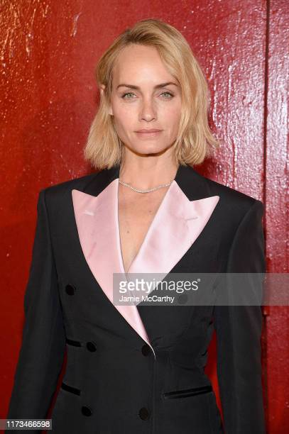 Amber Valletta attends the Tom Ford arrivals during New York Fashion Week on September 09, 2019 in New York City.