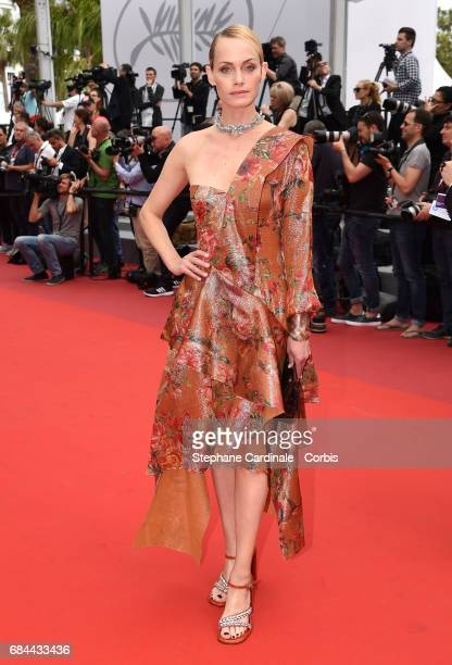 Amber Valletta attends the Wonderstruck screening during the 70th annual Cannes Film Festival at Palais des Festivals on May 18 2017 in Cannes France