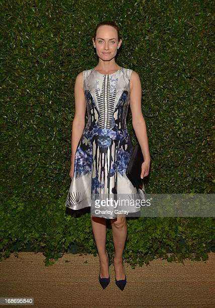 Amber Valletta attends Vogue and MAC Cosmetics dinner hosted by Lisa Love and John Demsey in honor of Prabal Gurung at the Chateau Marmont on Monday...
