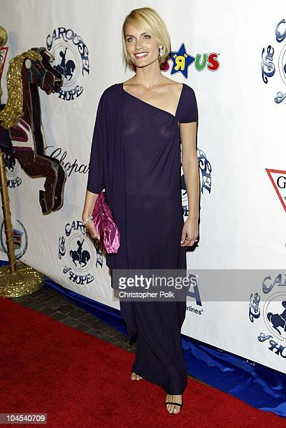 Amber Valletta during Carousel of Hope Benefitingthe Barbara Davis Center For Childhood Diabetes at Beverly Hilton Hotel in Los Angeles CA United...