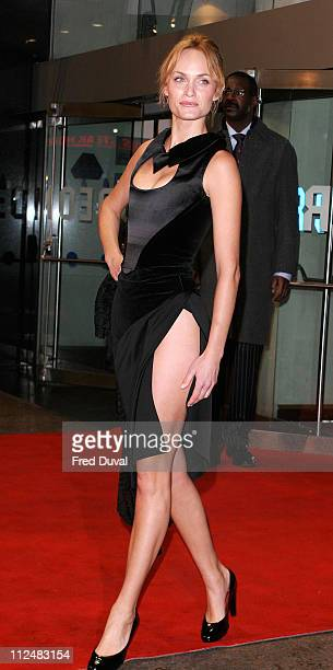 Amber Valletta during Hitch London Premiere Arrivals at Odeon Leicester Square in London California Great Britain