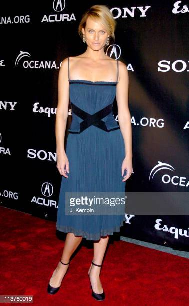 Amber Valletta during Oceana Charity Gala November 7 2005 at Esquire Downtown at Astor Place in New York City New York United States
