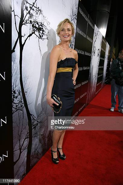 Amber Valletta during Tri Star Pictures Presents the World Premiere of Premonition at Cinerama Dome in Hollywood California United States