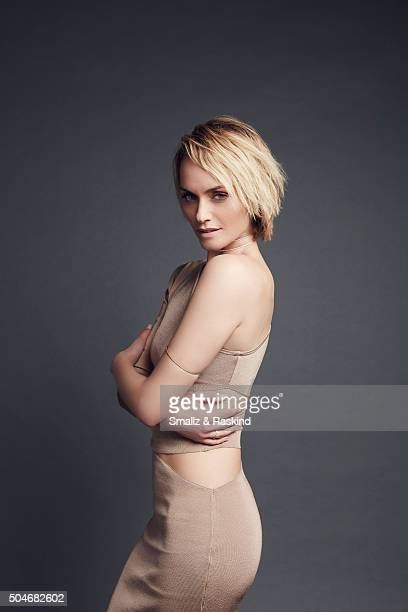 Amber Valletta poses for a portrait at the 2016 People's Choice Awards at the Microsoft Theater on January 6 2016 in Los Angeles California