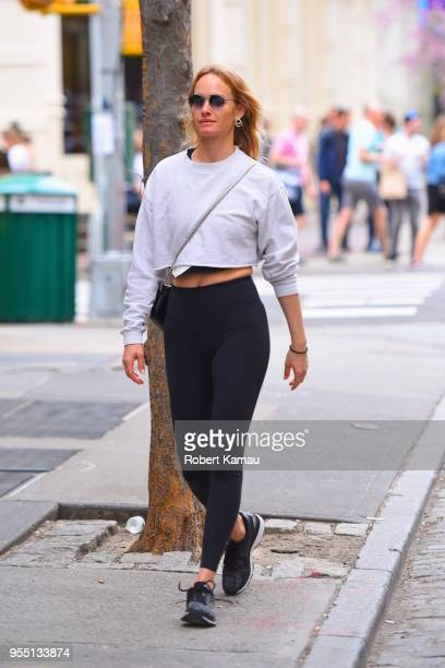 Amber Valletta seen out and about in Manhattan on May 5 2018 in New York City
