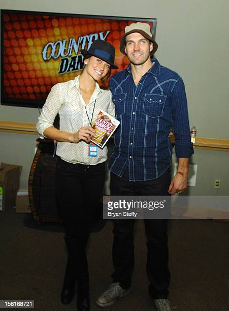 Amber Zito and Major League Baseball player Barry Zito attend the Backstage Creations Celebrity Retreat at the Mandalay Bay Events Center on December...