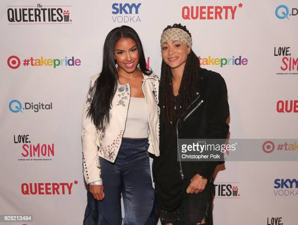 Ambers Closet attends the Queerty presents The Queerties Award Reception on February 27 2018 in Los Angeles California