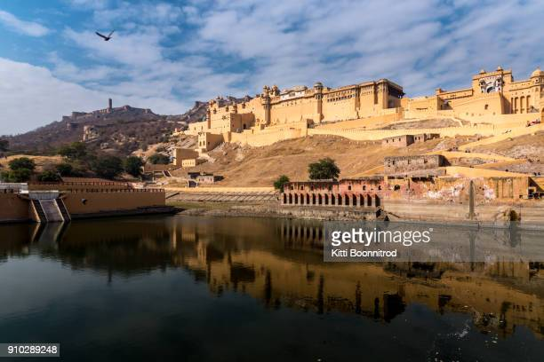 Ambert fort, the most famous fort of Jaipur, Rajasthan, India