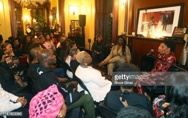 Ambiance at the celebration for the North of 40 Podcast Launch at Dapper Dan Atelier on November 14 2019 in New York City