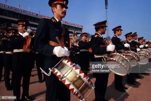 Ambiance avant le Match Bulgarie / France Qualification pour la Coupe du Monde 1978 Sofia Bulgarie