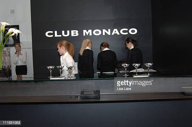 Ambiance during Club Monaco opens in Philadelphia - September 20, 2006 at Club Monaco in Philadelphia, Pennsylvania, United States.