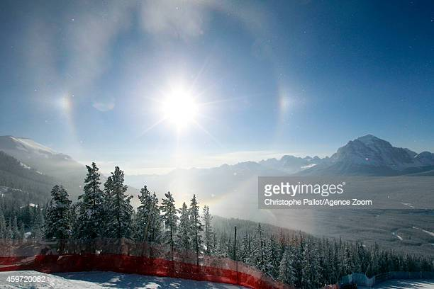 ambiance during the Audi FIS Alpine Ski World Cup Men's Downhill on November 29 2014 in Lake Louise Canada