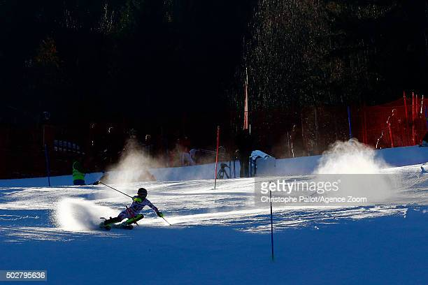 Ambiance during the Audi FIS Alpine Ski World Cup Women's Slalom on December 29 2015 in Lienz Austria