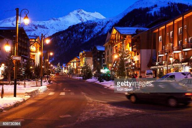 Ambiance Val d Isere Station Val Thorens