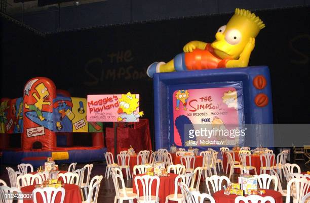 Ambience during Fox Celebrates The Simpsons 300th Episode at Santa Monica Civic Auditorium in Santa Monica CA United States