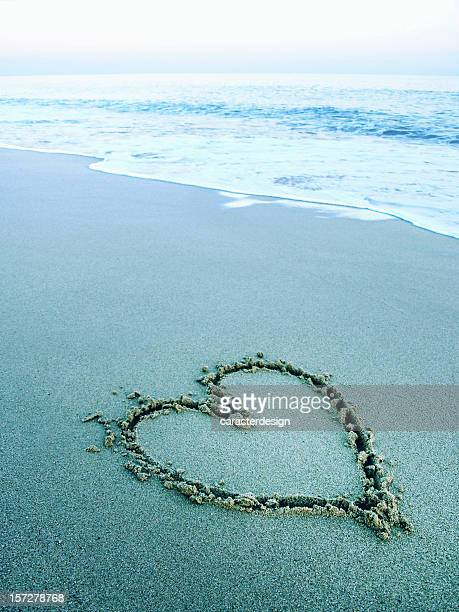 ambient zen:  love on the sand