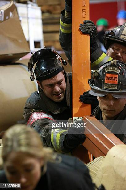 FIRE Ambition Episode 120 Pictured Taylor Kinney as Kelly Severide and Charlie Barnett as Peter Mills