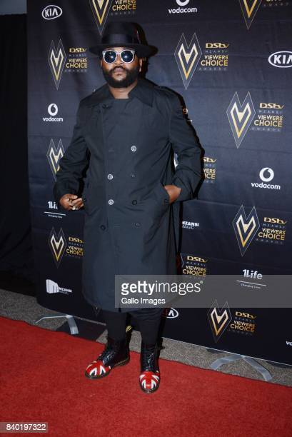 Ambitiouz Entertainment superstar Sjava during the DStv Mzansi Viewers Choice Awards event at the Sandton Convention Centre on August 26 2017 in...