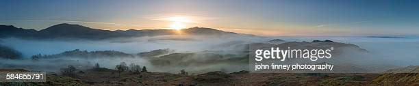 Ambleside sunrise, Lake District, UK