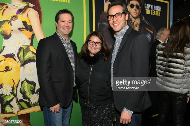 Amblin Partners President and CEO Jeff Small Amblin Partners President of Production Holly Bario and Amblin Partners Copresident of production Jeb...