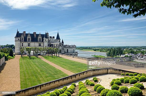 amboise castle - loire valley stock pictures, royalty-free photos & images