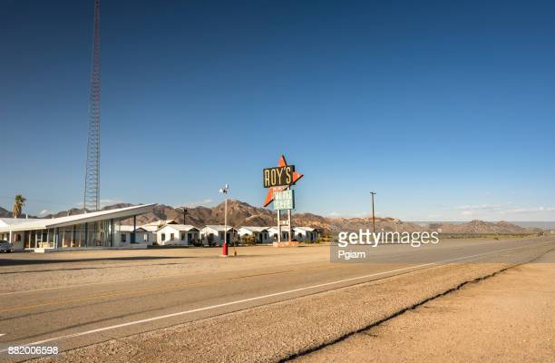 Amboy historic hotel and cafe California USA