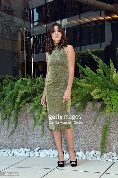 Ambra Angiolini attends a photocall for 'Al Posto Tuo' on September 27 2016 in Rome Italy