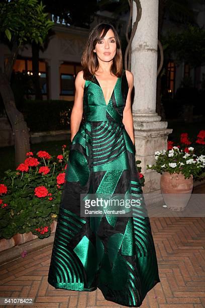Ambra Angiolini attends Baume Mercier Closing Night 62 Taormina Film Fest on June 18 2016 in Taormina Italy