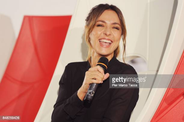 Ambra Angiolini attends FuoriCinema on September 16 2017 in Milan Italy