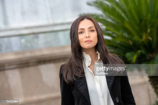 Ambra Angiolini attends photocall film 'Brave Ragazze' on 3 October 2019 in Rome Italy