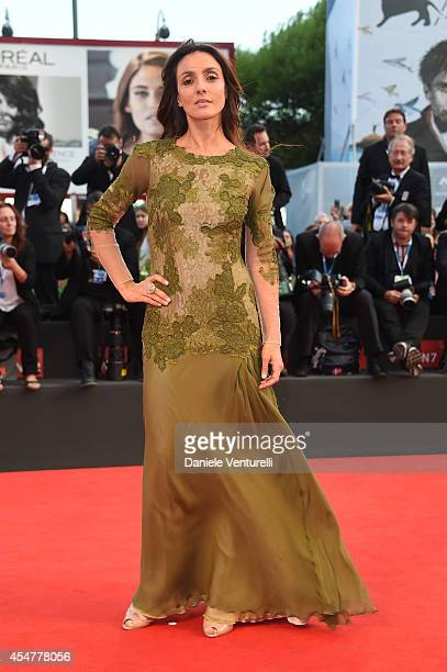 Ambra Angiolini attends the Closing Ceremony during the 71st Venice Film Festival at Sala Grande on September 6 2014 in Venice Italy