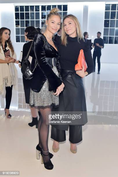 Ambre Dahan and Heidi Merrick attend Mr Chow 50 Years on February 16 2018 in Vernon California