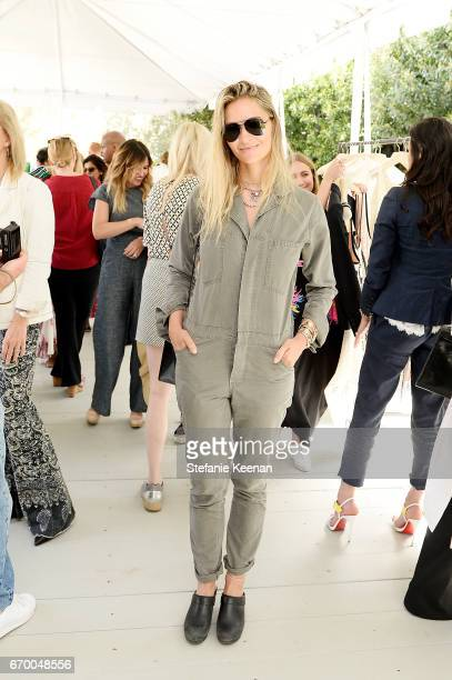 Ambre Dahan attends the annual HEART Brunch featuring Stella McCartney on April 18 2017 in Los Angeles California