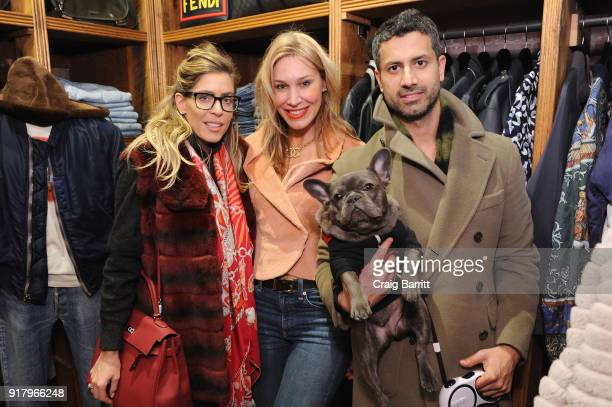 Ambria Mische and guests attend Vintage For The Future A Norma Kamali Retrospective by What Goes Around Comes Around on February 13 2018 in New York...