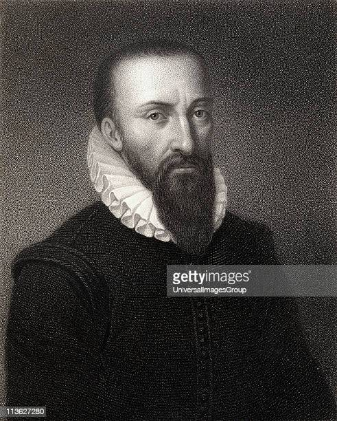 Ambroise Pare 15101590 French physician From the book 'Gallery of Portraits' published London 1833