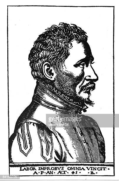 Ambroise Pare Woodcuts Ambroise Pare 151020121590 Physician surgeon France woodcut 1555