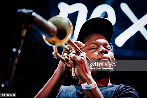 Ambrose Akinmusire Performs at 'So What's Next' Festival on November 4 2017 in Eindhoven Netherlands Photo by Peter Van Breukelen/Redferns