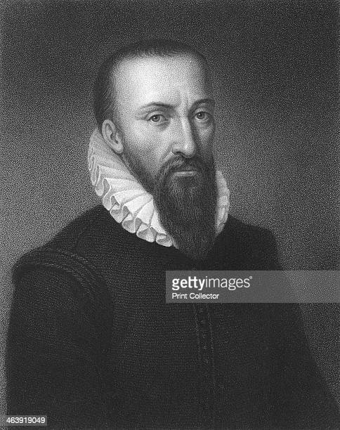 Ambrose Pare 16th century French military surgeon [1835] Pare is widely regarded as the father of modern surgical practice From The Gallery of...