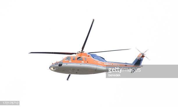 Rettungswagen Hubschrauber