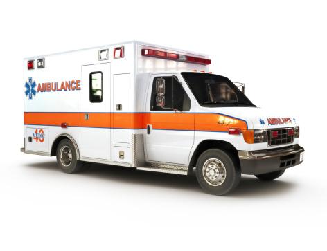 Ambulance on a white background 177362301