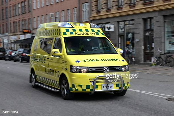 Ambulance on the street