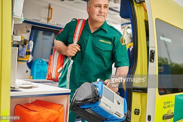 ambulance Auxiliaire médical