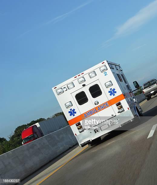 Ambulance Speeding on Expressway