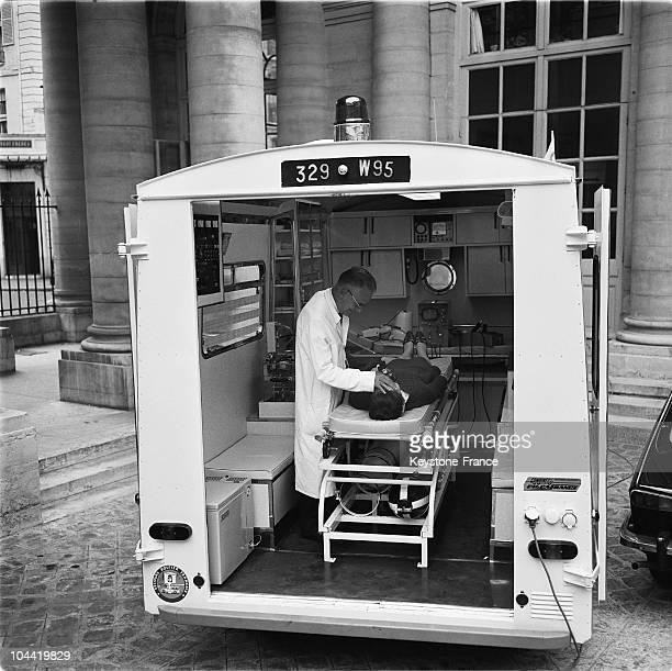 Ambulance Truck Of Resuscitation In 1967