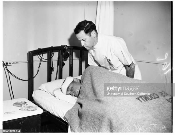 AmbulancePolice car crash story 22 October 1951 CopyJohn E Gilson Nurse Emily McGrathOfficer Henry J Elliott Officer Raymond Hofacker David W Weible...